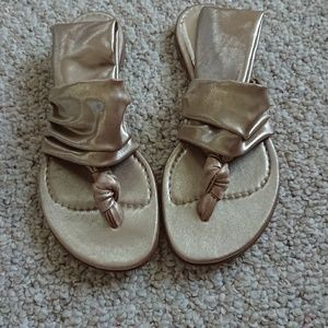 Casadei gold Sandals
